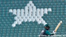 Pakistan vs Bangaldesch Vorbereitungen Cricket T20 Gaddafi Stadion in Lahore