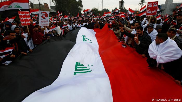 Irak Proteste gegen USA (Reuters/A. al-Marjani)
