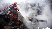 pic Title: chattogram-sholokbahar-slum-fire Description: A fire has burnt down a slum in Chattogram city's Shulkobahar.