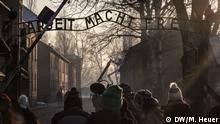 The 'Gate of Death' at Auschwitz (DW/M. Heuer)