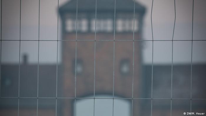 Gate to Auschwitz (DW/M. Heuer)