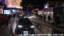 Schweiz | Promenade in Davos während dem Weltwirtschaftsforum