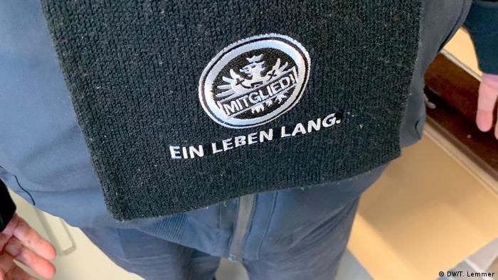 Frankfurt Helmut Sonneberg Eintracht Frankfurt Fan und Holocaustüberlebender (DW/T. Lemmer)