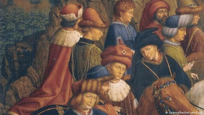 A section of Just Judges (Gemeinfrei/Jan van Eyck)