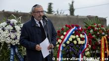 Kroatien Gedenken an die Holocaust Opfer in Zagreb
