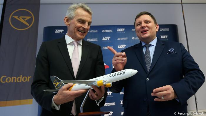 Polski LOT przejął niemieckie linie czarterowe Condor
