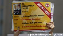 Türkei Protest Pressefreiheit