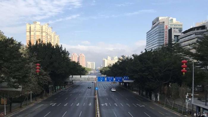 China Wuhan | Stadt wegen Coronavirus abgeriegelt (Li Ling)