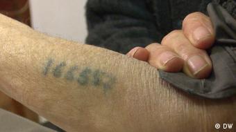 Χαραγμένος αριθμός κρατουμένου του Άουσβιτς