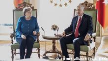 Türkei Merkel mahnt bei Besuch in Istanbul Wissenschaftsfreiheit an