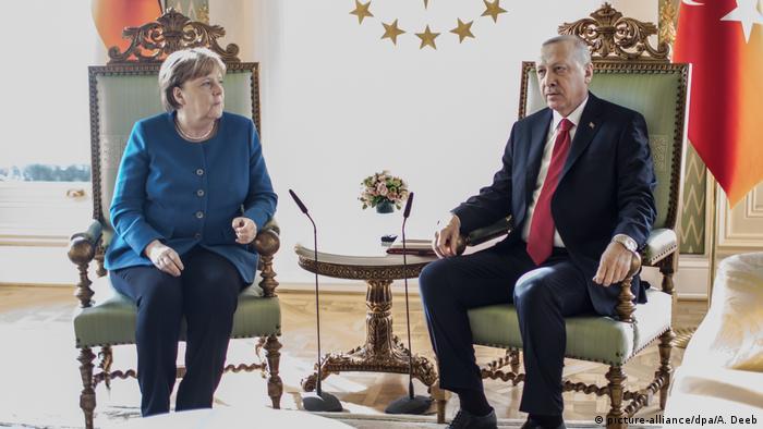 La Libye et la Syrie au coeur des échanges entre Merkel et Erdogan