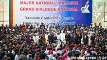 Kamerun Nationaler Dialog in Yaounde