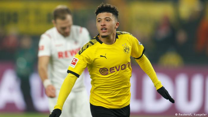Borussia Dortmund Take Important Step With Five Star Showing Against Cologne Sports German Football And Major International Sports News Dw 24 01 2020