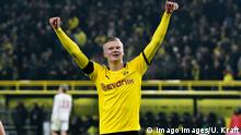 Fußball Bundesliga Borussia Dortmund - 1. FC Köln Erling Haaland