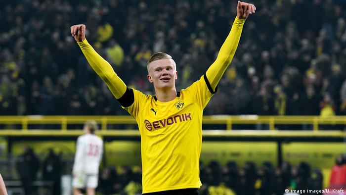 Erling Haaland: The love affair begins in Dortmund as a star is ...