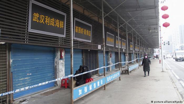 A street in Wuhan