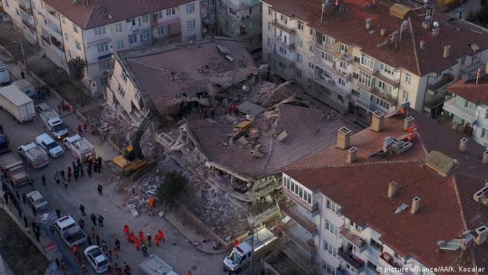 Місто Елязиг у Туреччині опинилося у епіцентрі потужного землетрусу