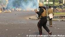 Irak Anti-Regierungs-Proteste in Bagdad