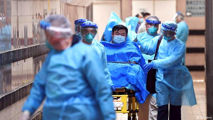China Coronavirus Queen Elizabeth Hospital in Honkong (Reuters)
