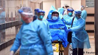 China Coronavirus Queen Elizabeth Hospital in Honkong