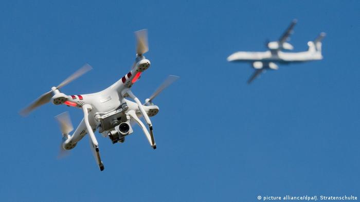 Deutschland l Bund rechnet mit hohen Kosten für Drohnenabwehrsystem an Flughäfen