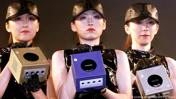 Acara peluncuran Nintendo Gamecube (picture-alliance/dpa/AFP/Y. Tsuno)
