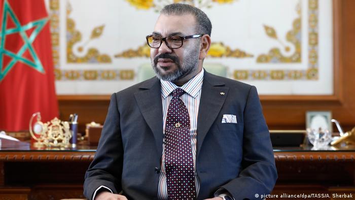 Marcoco El rey Mohammed VI recibe al canciller ruso Lavrov en Rabat