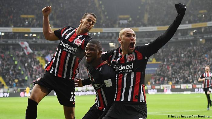 Bundesliga Eintracht Frankfurt Discover Recipe To Beat Rb Leipzig Sports German Football And Major International Sports News Dw 25 01 2020