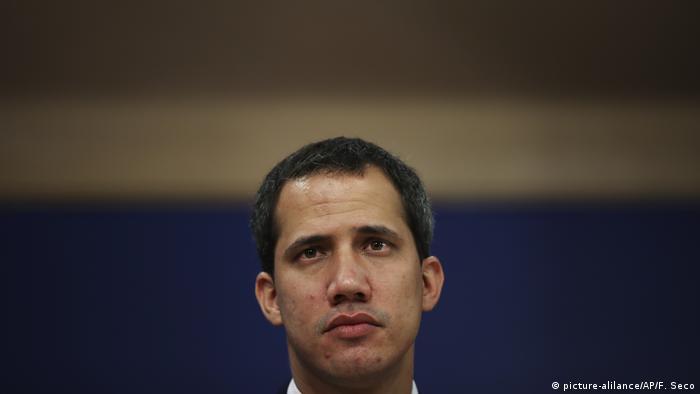 Venezuela l Oppositionsführer Juan Guaido