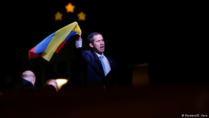 Spanien l Venezuelanische Oppositionsführer Juan Guaido in Madrid
