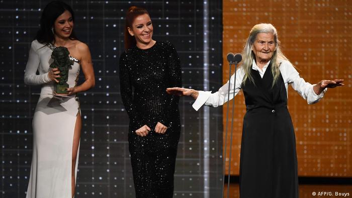 84-year-old woman wins Spain's best new actress prize
