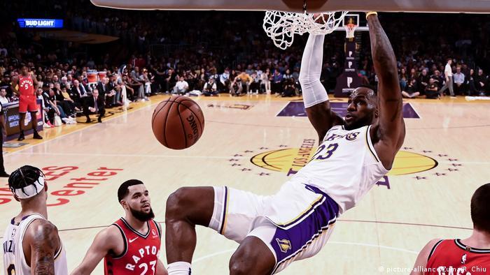 USA NBA LA Lakers LeBron James