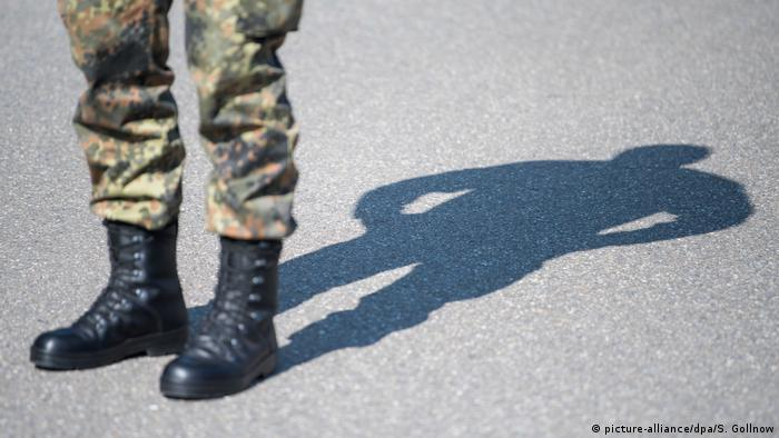 Bundeswehrsoldat (picture-alliance/dpa/S. Gollnow)