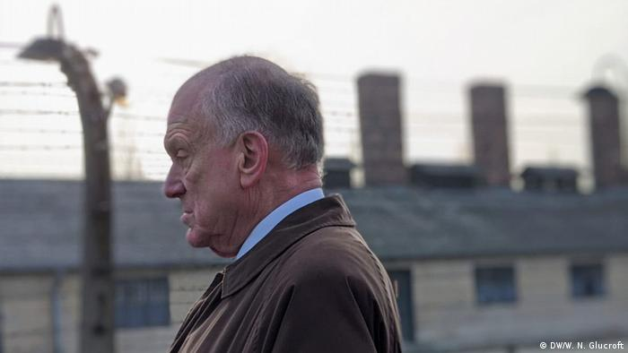 President of the WJC, Ronald S. Lauder, at the 75th anniversary of Auschwitz's liberation (DW/W. N. Glucroft)