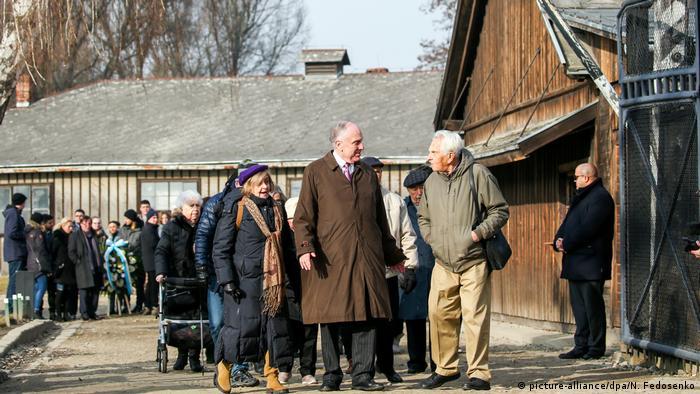 Polen Gedenken l Das Konzentrationslager Auschwitz, 75. Jahrestag der Befreiung l Ronald Steven Lauder