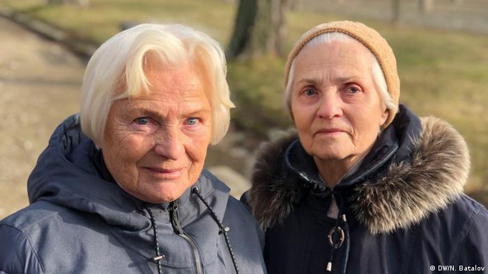 Polen Gedenken l Das Konzentrationslager Auschwitz, 75. Jahrestag der Befreiung l Vera und Nina Lebedew