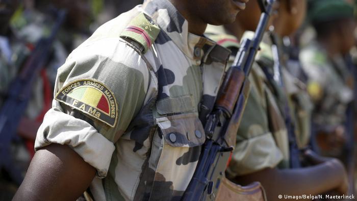 Un soldat des forces armées maliennes. La garde nationale serait impliquée dans la tentative de coup d'Etat.