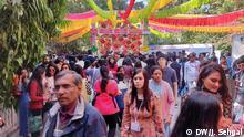 Indien Literatur-Festival in Jaipur