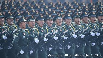 Военный парад в Китае, январь 2020 года