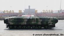 China l Militärparade zur Feier des 70. Jahrestages der Gründung der Volksrepublik China