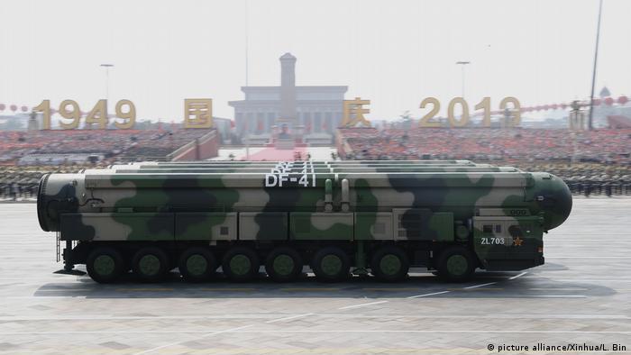 Atomsko naoružanje na paradi održanoj početkom januara u Pekingu povodom 70. godišnjice od osnivanja NR Kine
