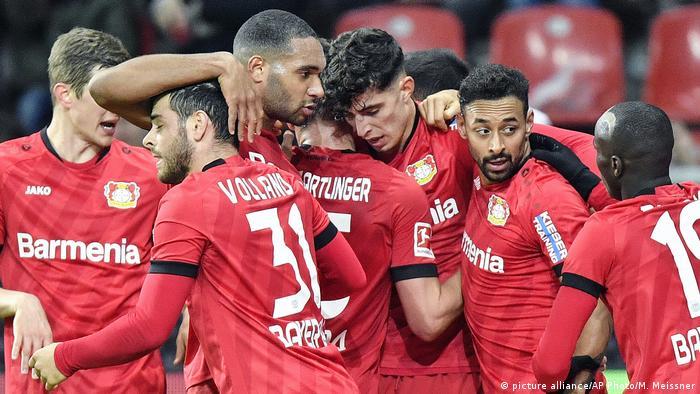 Fussball 1. Bundesliga 19.Spieltag l Bayer 04 Leverkusen vs Fortuna Düsseldorf l Jubel