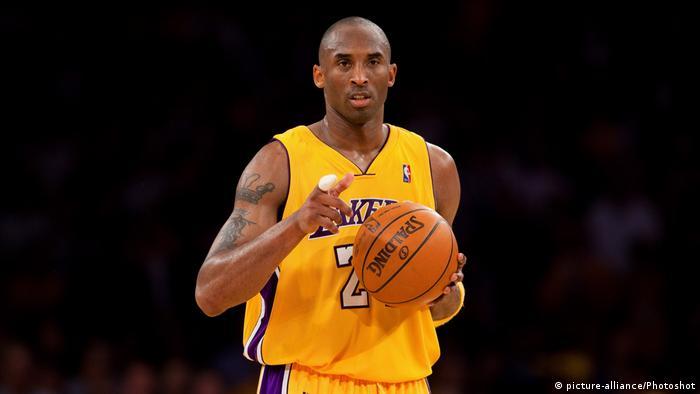 O ex-jogador da NBA Kobe Bryant