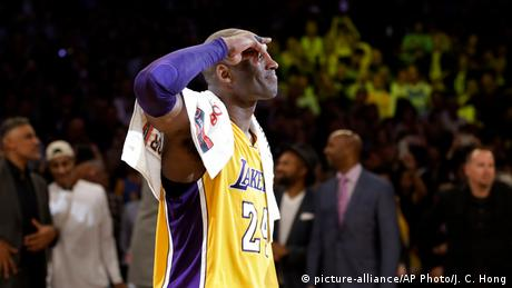 BG Kobe Bryant | Kobe Bryants letztes Spiel (2016) (picture-alliance/AP Photo/J. C. Hong)