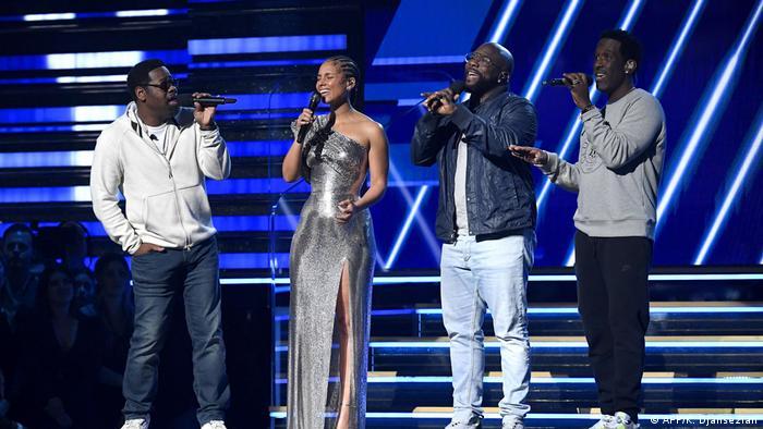 Alicia Keys e Boyz II Men