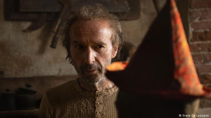 Roberto Begnini no filme Pinocchio