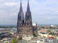 Кёльнский собор - самое знаменитое сооружение Германии