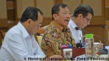 Indonesien Ministertreffen zum Coronoavirus
