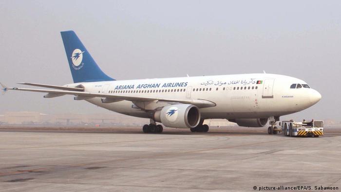 هواپیمای شرکت هوایی آریانا افغانستان