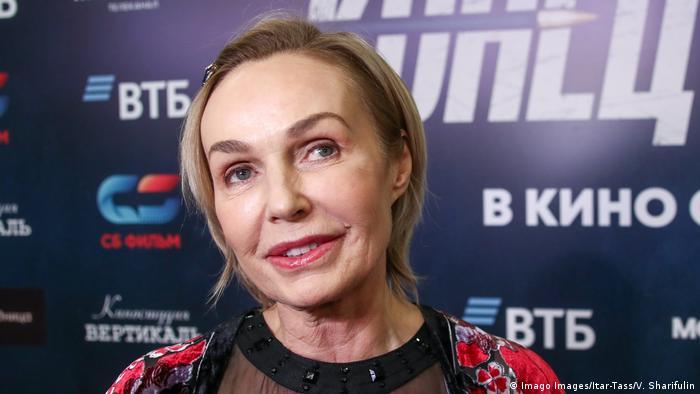 Наталья Андрейченко на премьере фильма Конец сезона в Москве
